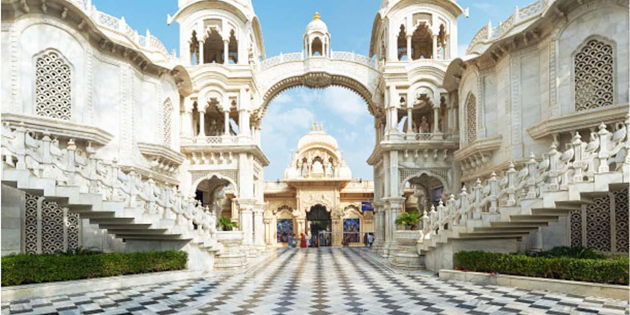 Krishna Balaram Mandir / ISKCON Vrindavan Mathura (Timings