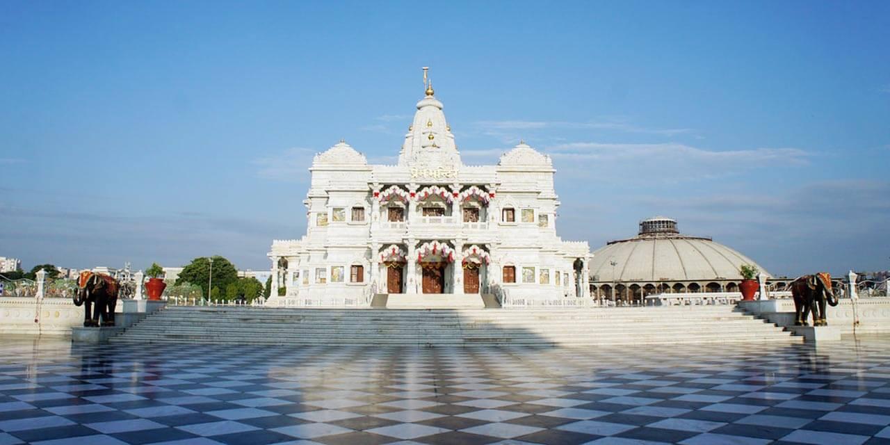 Prem Mandir Shyama Shyam Dham Vrindavan Timings History Entry