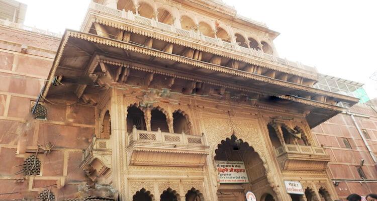 Banke Bihari Temple Vrindavan Timings History Entry Fee Images